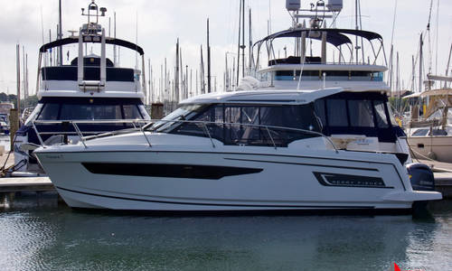 Image of Jeanneau Merry Fisher 895 for sale in United Kingdom for £119,950 Chichester Marina, United Kingdom