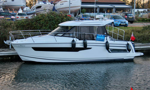 Image of Jeanneau Merry Fisher 895 for sale in United Kingdom for £99,950 Chichester Marina, United Kingdom