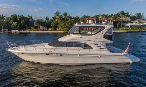 Image of Sea Ray 560 Sedan Bridge for sale in United States of America for $348,900 (£271,205) Fort Lauderdale, FL, United States of America