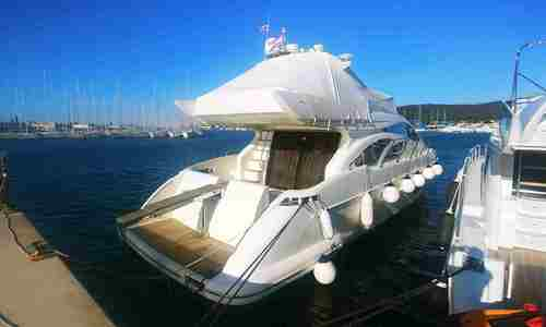 Image of Azimut Yachts 55 Fly for sale in Croatia for €400,000 (£364,558) Croatia