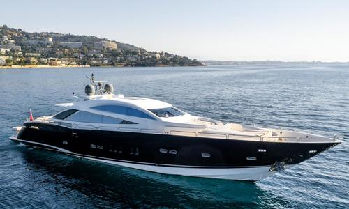 Image of Sunseeker Predator 108 for sale in France for €2,750,000 (£2,498,410) Cannes, France