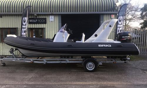 Image of Brig Eagle 650 (2015) - ORCA Hypalon Fabric Impression for sale in United Kingdom for £34,995 South West, United Kingdom