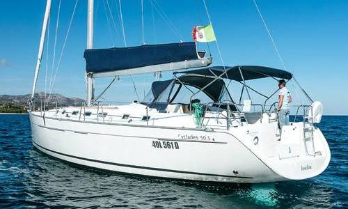Image of Beneteau Cyclades 50.5 for sale in Italy for €112,500 (£100,680) Sardinia, Italy