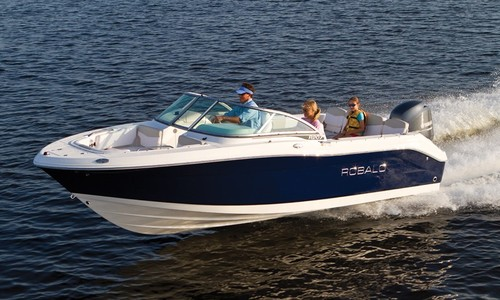 Image of Robalo Dual console R207 for sale in United Kingdom for £52,615 United Kingdom