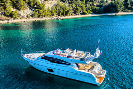 Ferreti Yachts 620 for charter in Croatia from €20,000 / week
