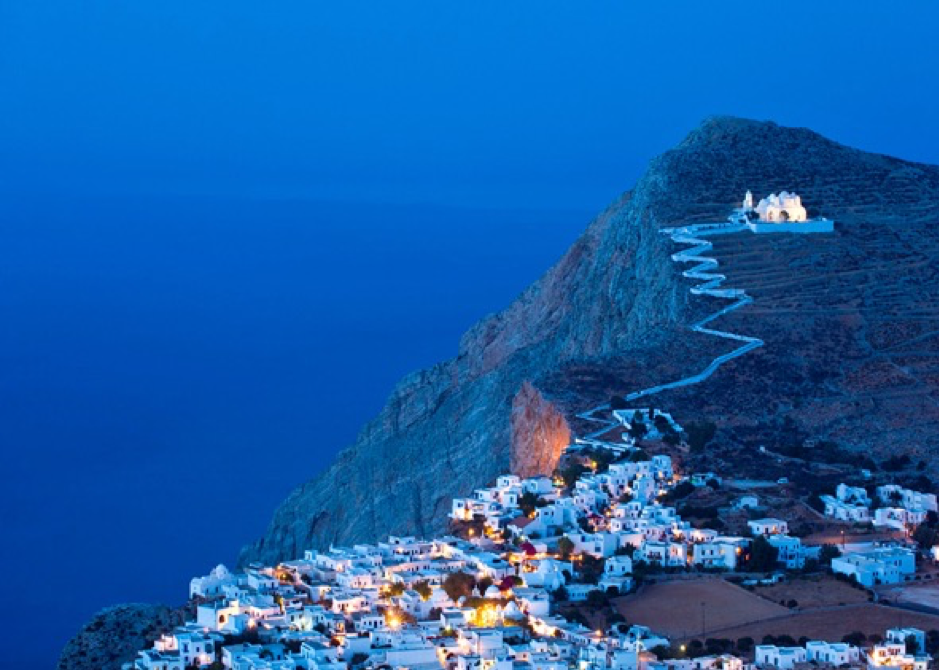 Folegandros in Greek Island