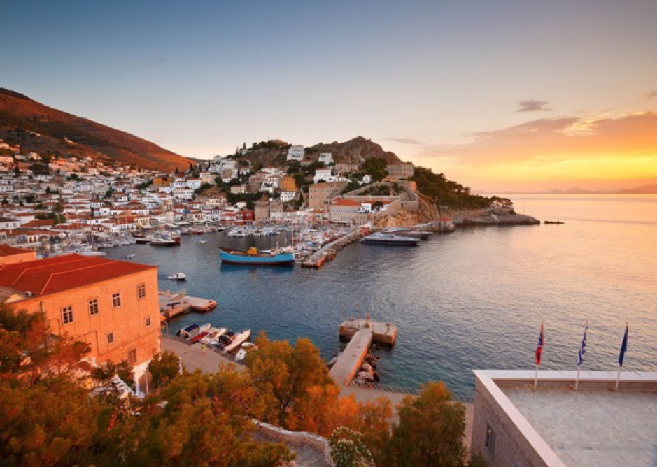 Hydra in Greek Island