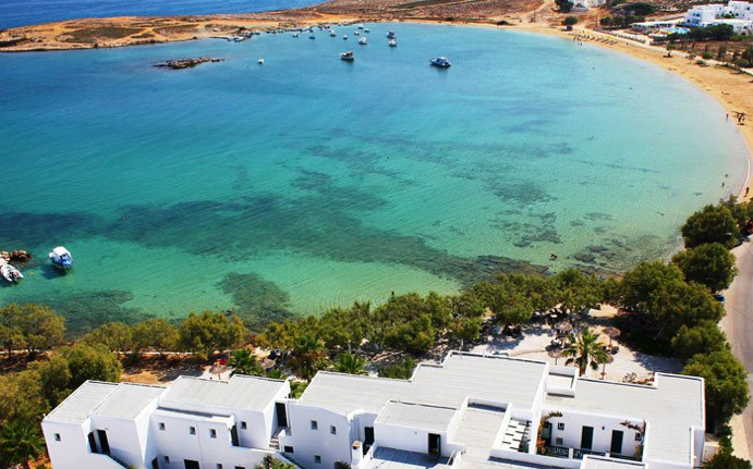 Paros in Greek Island