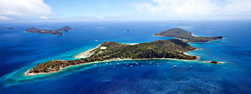 Cooper Island in British-Virgin-Islands