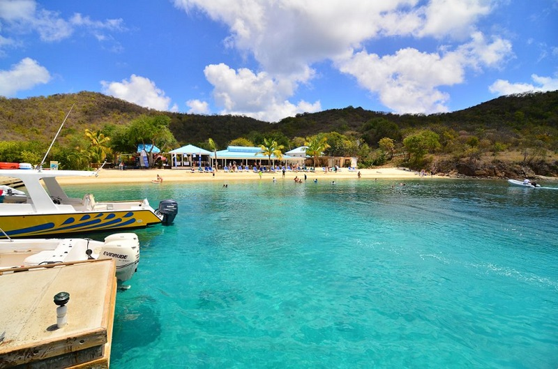 Norman Island in BVI