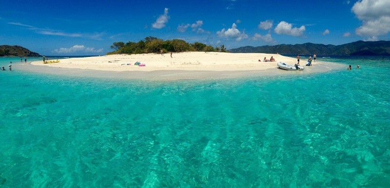 Sandy Spit in BVI