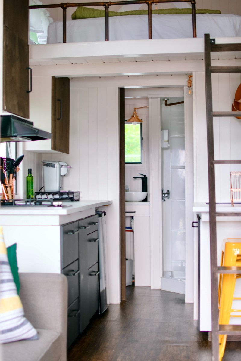 Tiny House Inside View