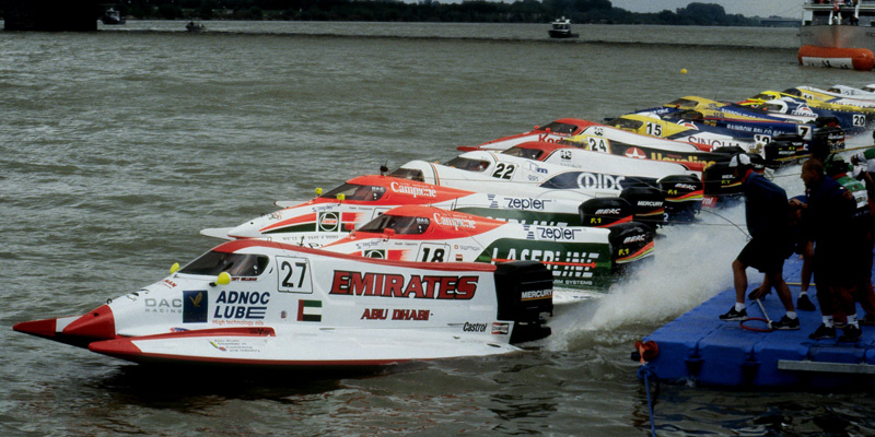 F1 powerboat racing