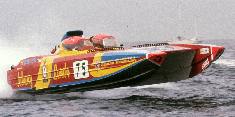 Class1 F1 powerboat racing