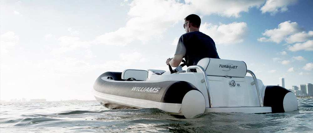 Williams Rib Boat