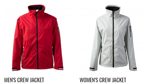 Men and Women Crew Jacket