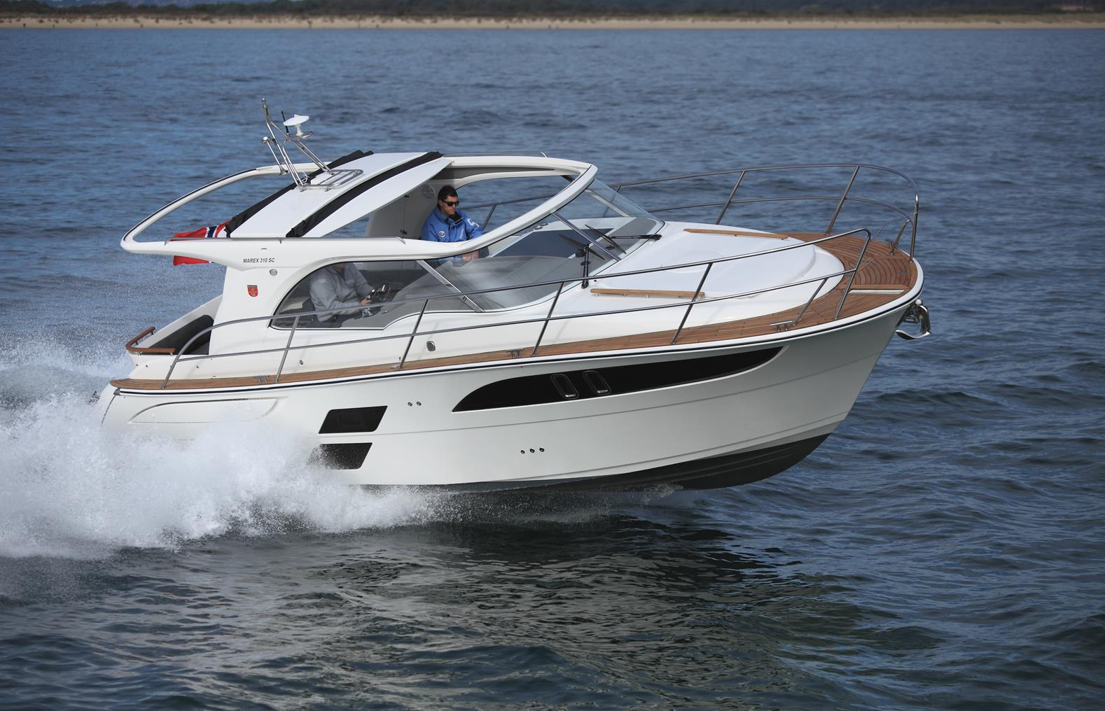 Marex 310 Boat