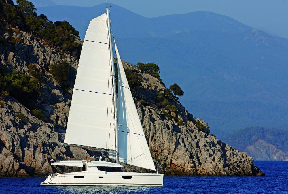Monohull Sailing Catamaran Boat