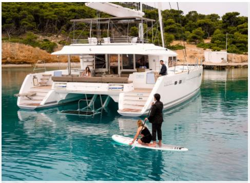Multihull Lagoon Boat