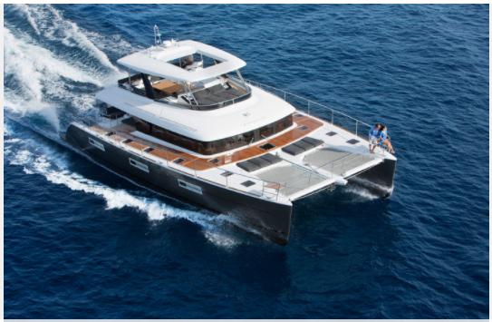 Multihull Cruising Lagoon Boat