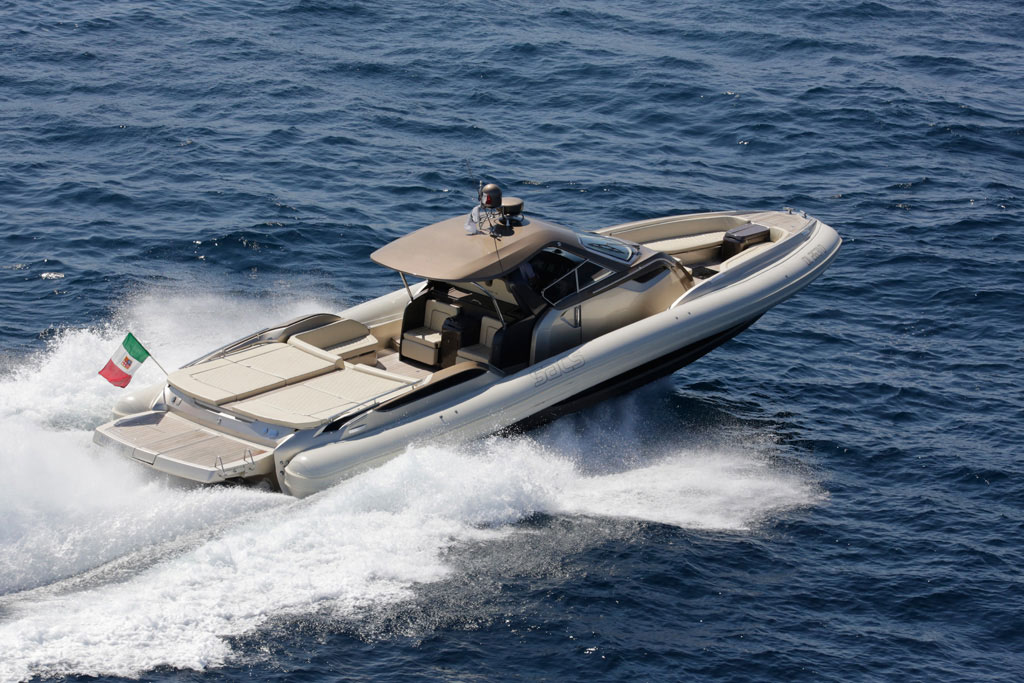 SACS Strider RIB Party Boat