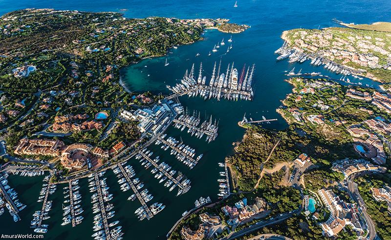 Marina di Porto Cervo Superyachts in Sardinia