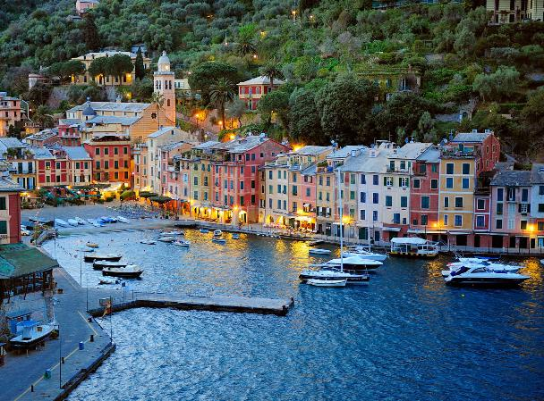 Marina Di Portofino Mega Yachts in Italy