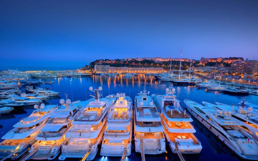 Port Hercule Luxurious Yachts and Boats in Monaco