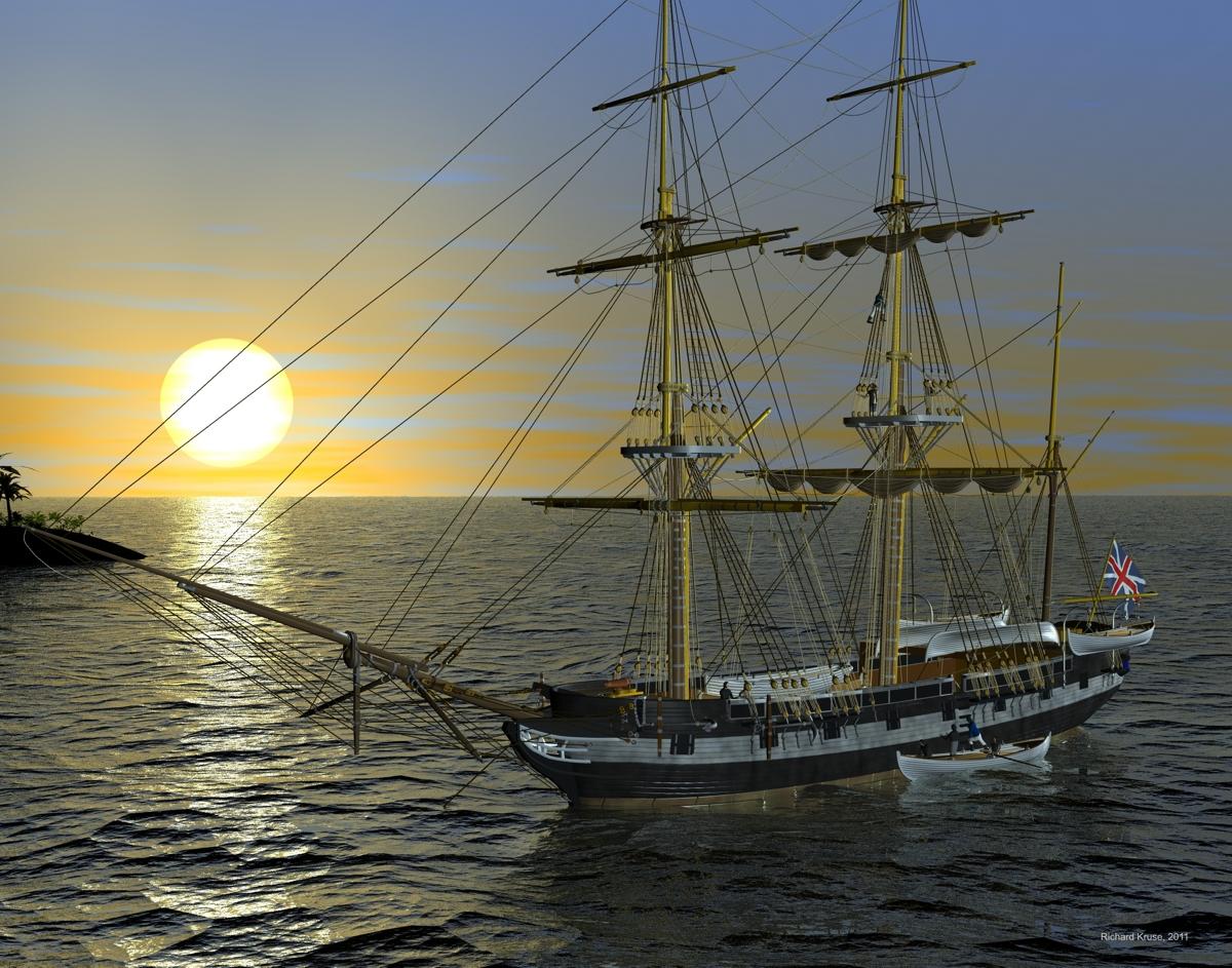 HMS Beagle Ship