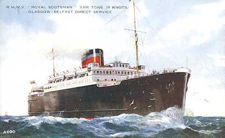 RMS Lusitania Ship