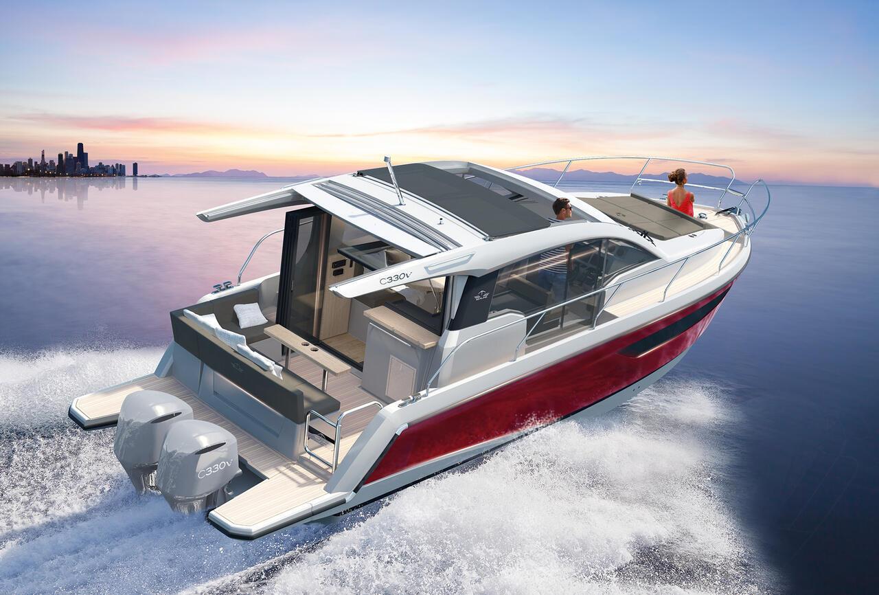 Sealine C330V Yacht