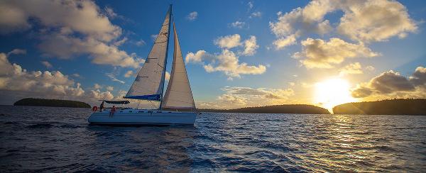 sea trial sailing